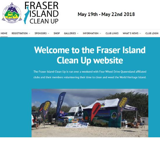 Every year the QLD Four Wheel Drive Association's affiliated Club Members join together and cleanup Fraser Island, gathering lots of rubbish washed up or left behind.